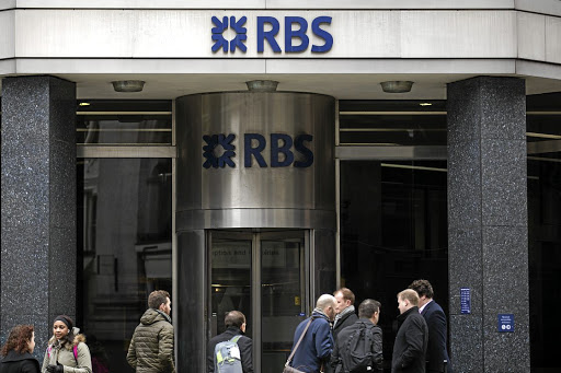 PUNISHED: The US government alleges RBS misled investors in underwriting and issuing residential mortgage-backed securities, understating the risks behind many of the loans and providing inaccurate data. Picture: BLOOMBERG/SIMON DAWSON