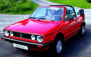 Volkswagen Golf GLI cabriolet Rent Akershus