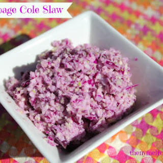 Red And Green Cabbage Coleslaw Recipes
