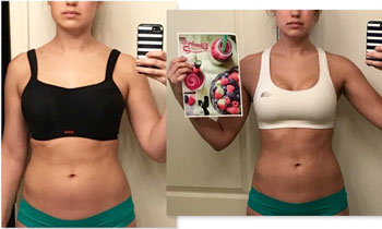 Alicia Lost 5 Pounds + 3 Inches in 1 Week