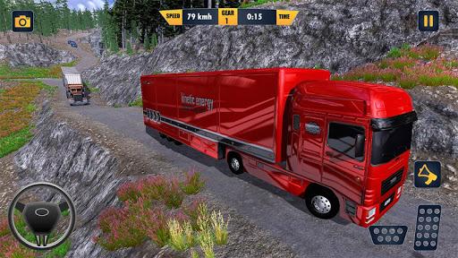 American Truck Cargo Car Transporter Driving 1.8 screenshots 1