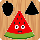 Fruits Puzzles for Kids - FREE icon