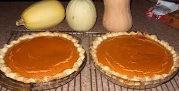 Pumpkin Chiffon Pies