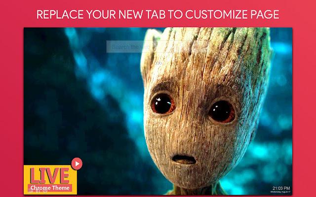 Guardians Of The Galaxy Wallpaper HD New Tab