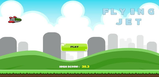 Flying Jet is the most addictive and challenging game to play .