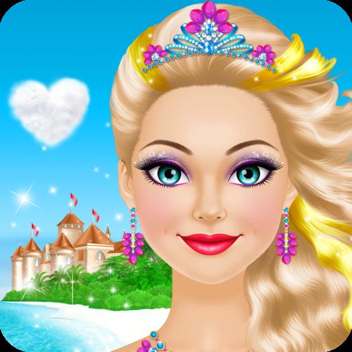 🌸 Tropical Princess Makeover Icon