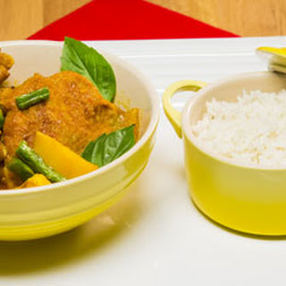Malaysian-Style Chicken Curry with Scented Basmati Rice