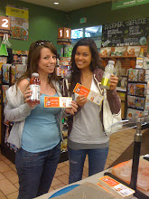 Photo: Vitamin Water and Odwalla Bars demos