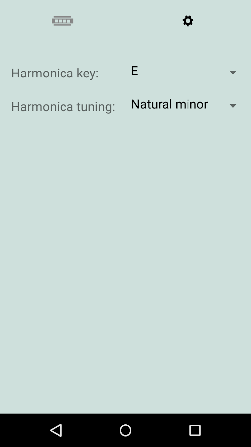 Harpion (Harmonica app)- screenshot
