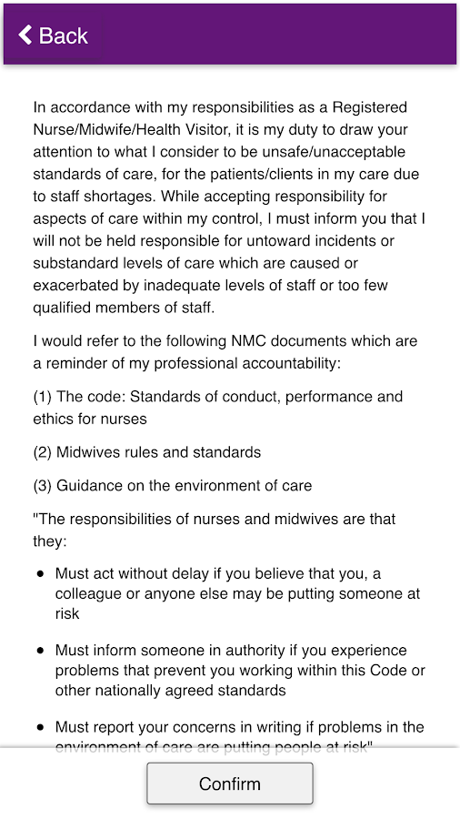 Duty of Care - UNISON Scotland- screenshot