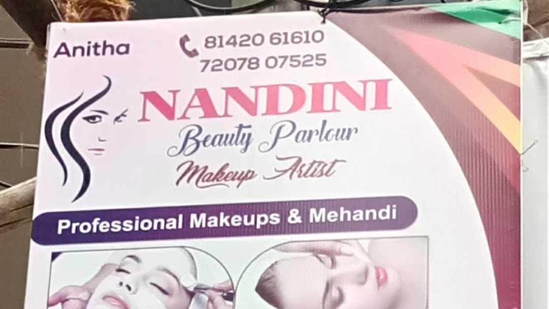 Nandini Beauty Parlour Make Up Artist In Hydarabad