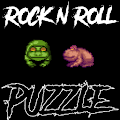 Rock 'n' Roll Frog Puzzle