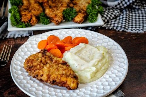 Just Plain Good Golden Fried Chicken Cutlets