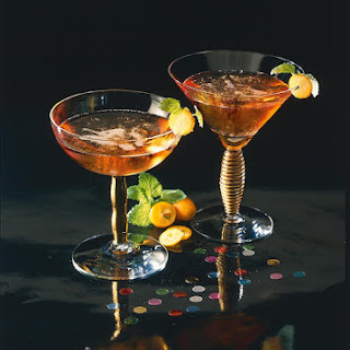 Orange and Cognac Fizz