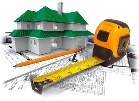 расположение дома и построек на участке