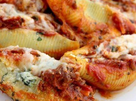 Slow Cooker Beef-stuffed Shells Recipe
