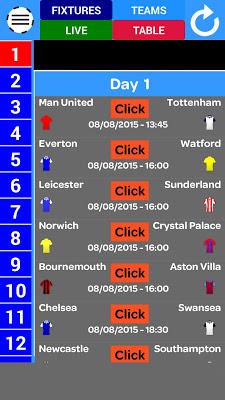 England Football 2016-17 - screenshot