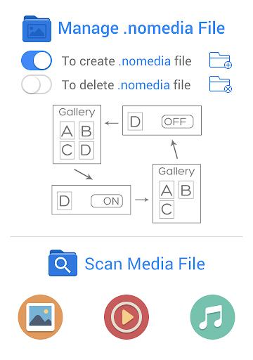 Nomedia 4.3.1 screenshots 1