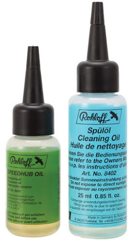 Rohloff Speedhub All Weather and Cleaning Oil Kit - 25ml each