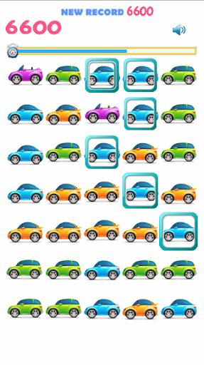 Free Cars Matching Game