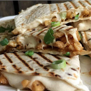 Quesadillas with Soy Shreds and Cashew Cheese