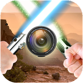 Lightsaber on Photo Editor