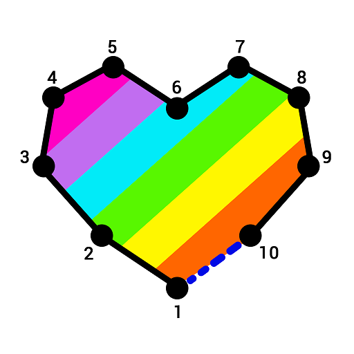 Dot to Dot Coloring Book: Color & Connect the Dots Icon