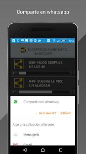 chistes de audio para whatsapp - náhled