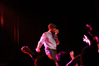 Photo: Talib Kweli performing with Black Star in San Francisco in November, 2011. On p. 91 of Oakland in Popular Memory. Photo by Joe Sciarrillo