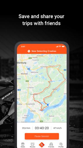 Detecht - Motorcycle GPS App screenshot 5