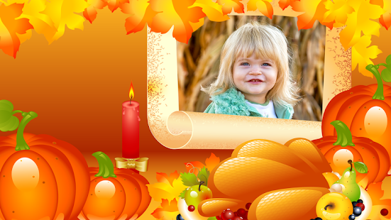 Thanksgiving Day Frames - náhled