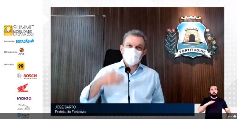 Capital cearense abriu 70 km de ciclovia em meio à pandemia.