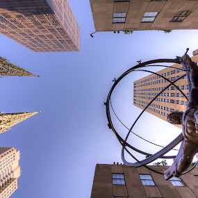 Atlas by Angel Escalante - Buildings & Architecture Statues & Monuments