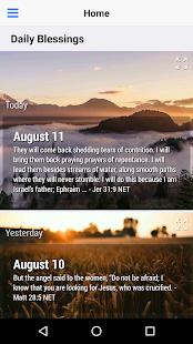 God's Daily Blessings Devotional - náhled