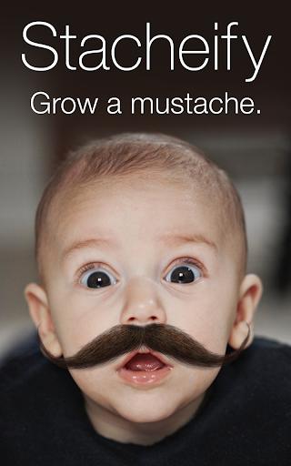 Stacheify - Grow a Mustache