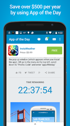 App of the Day - 100% Free screenshot 2