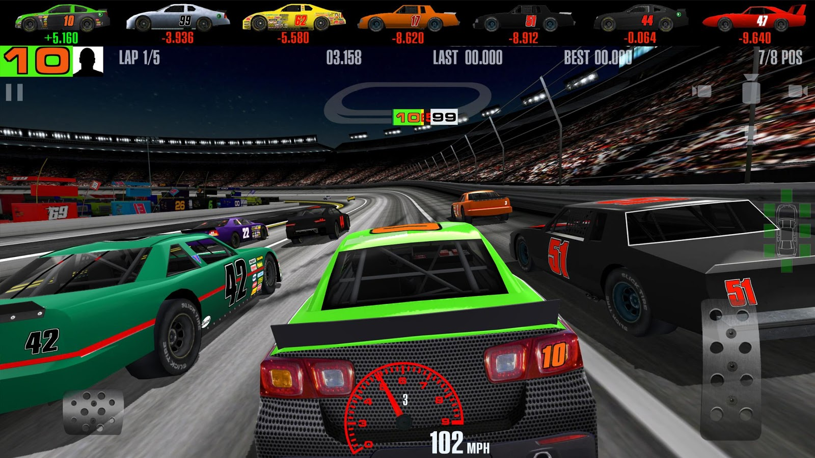 Stock car racing screenshot