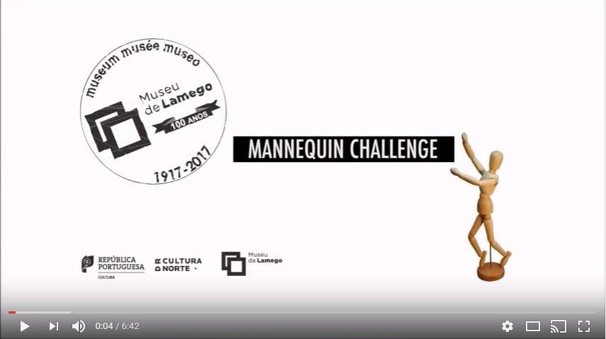 Vídeo - Mannequin Challenge | Centenário Museu de Lamego