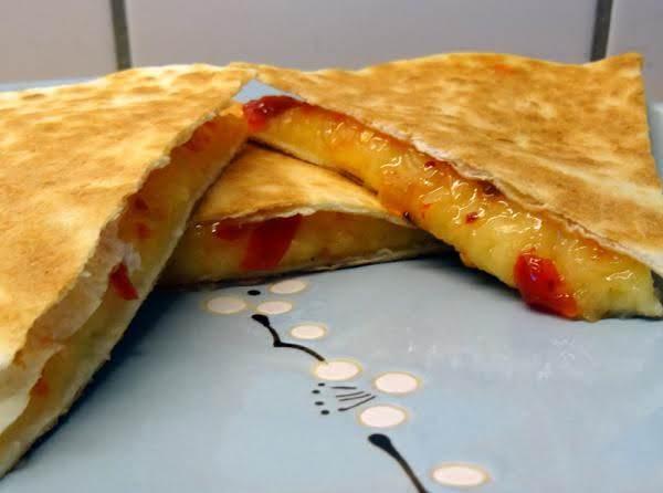 Grilled Cheese Quesadillas W/chili Jam Recipe