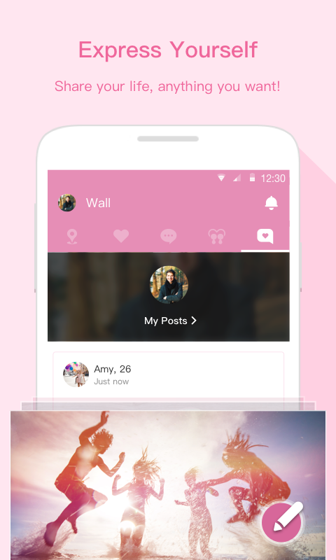 iPair-Meet, Chat, Dating: captura de pantalla