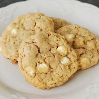 White Chip Peanut Butter Oatmeal Cookies