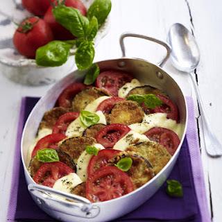 Eggplant, Tomato and Mozzarella Casserole.