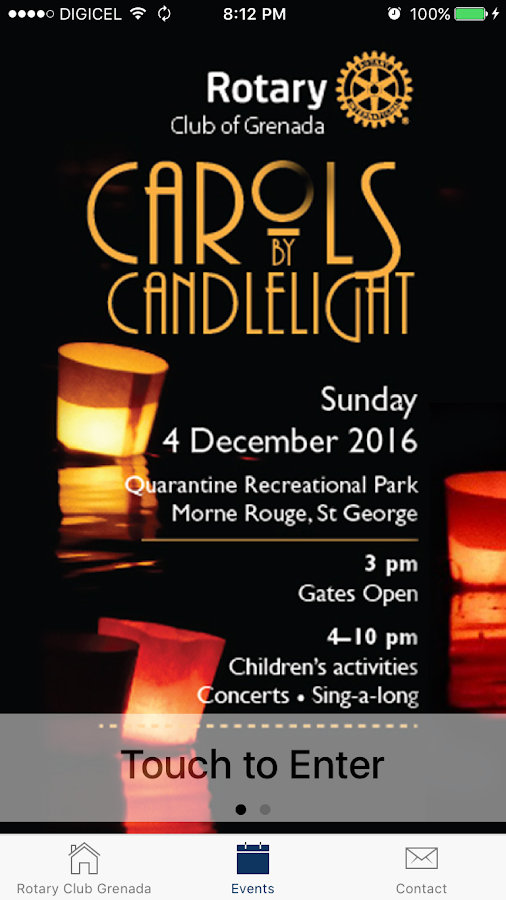 Carols by Candlelight- screenshot