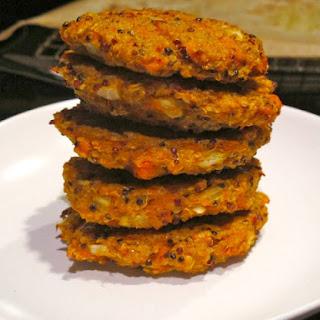 Food Babe's Quinoa Masala Burgers.