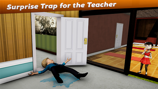 Crazy Scary Evil Teacher 3D - Spooky Game 1.1 screenshots 11