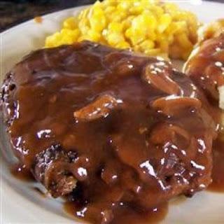 Salsbury Steak.