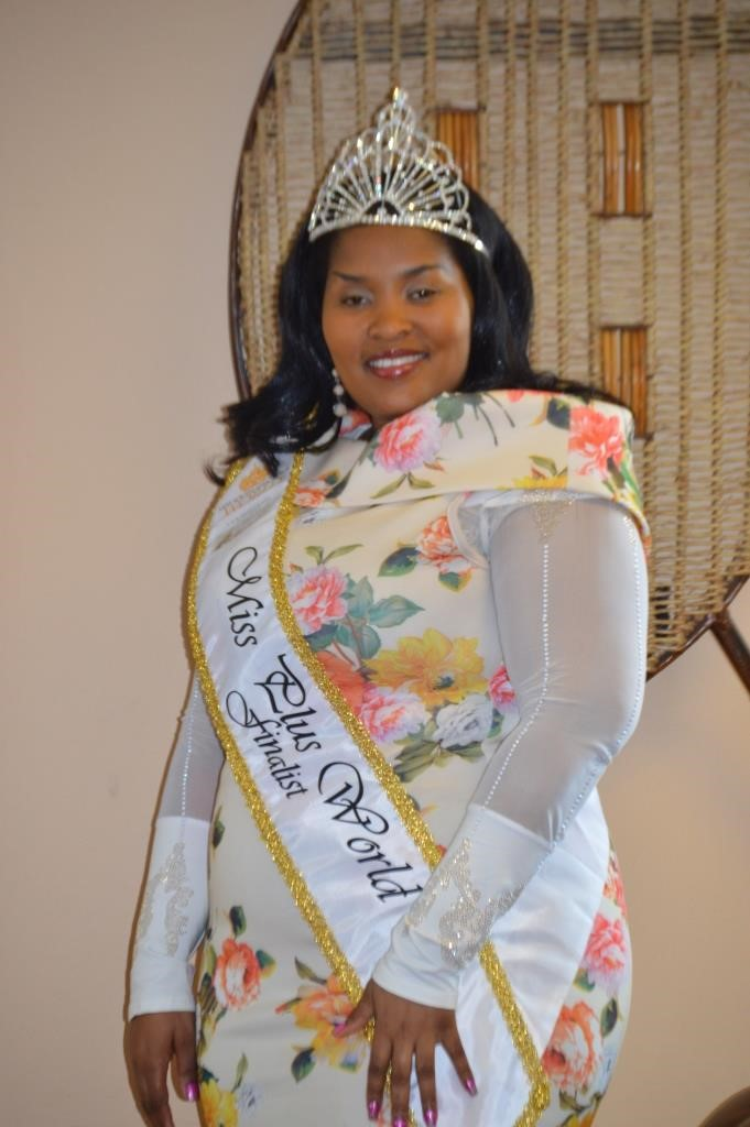 Dipolelo Hou first to represent South Africa in the Miss Plus World Pageant.