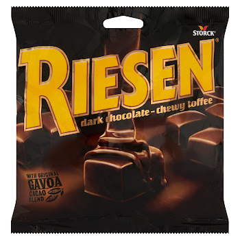 Stork Riesen Dark Chocolate Chewy Toffee - 135g