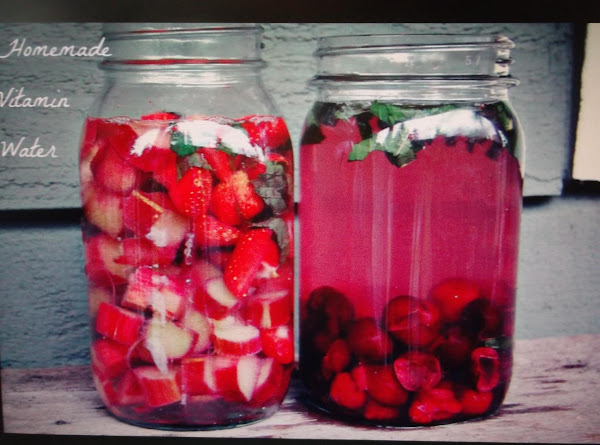 Anise  & Fruit Vitamin  Water Recipe
