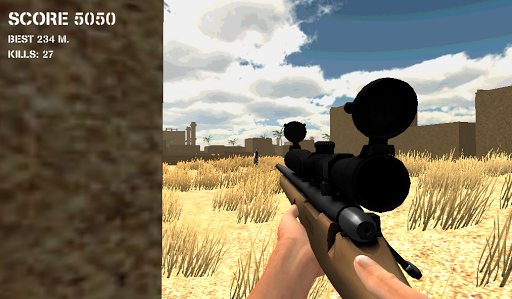Sniper Battle Killing Spree